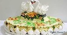 Торт «Лебедина вірність»