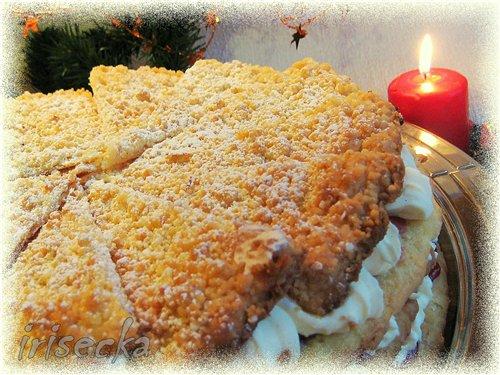 Пирожное со штрейзелем
