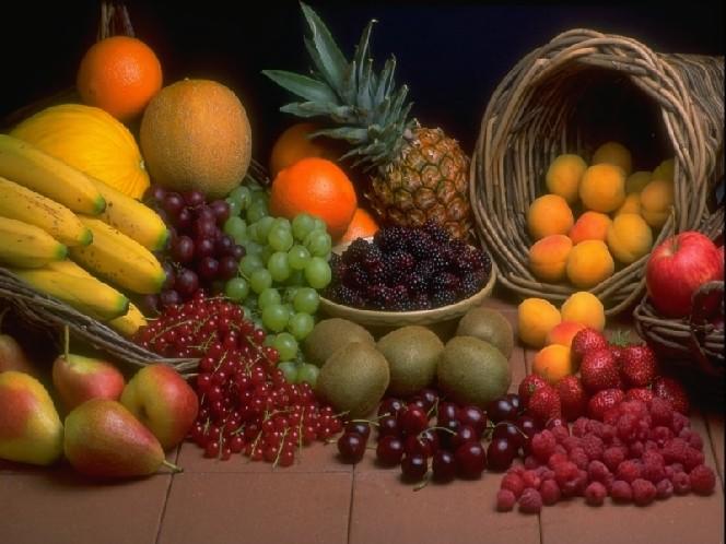 Verduras, frutas y cereales