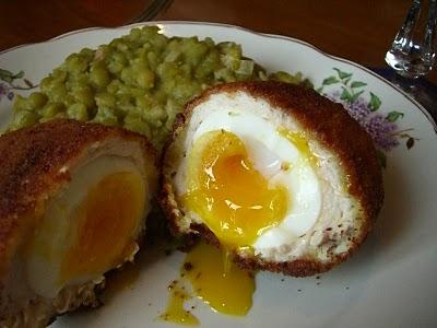 la cebolla picada con el huevo