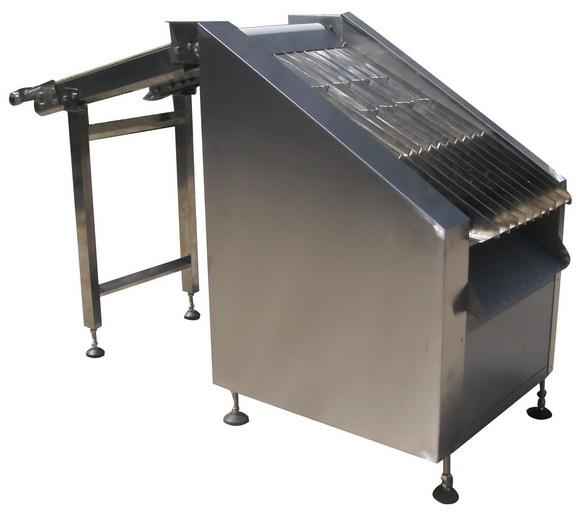 La máquina para el posicionamiento galletas