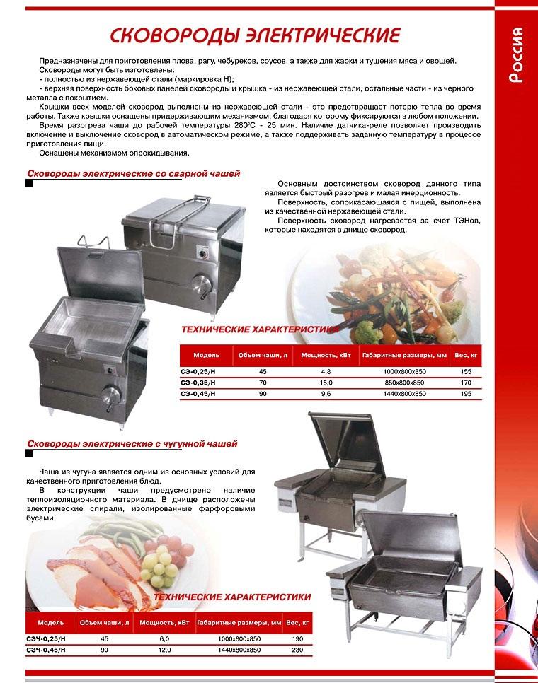 Сковороди електричні (Росія)