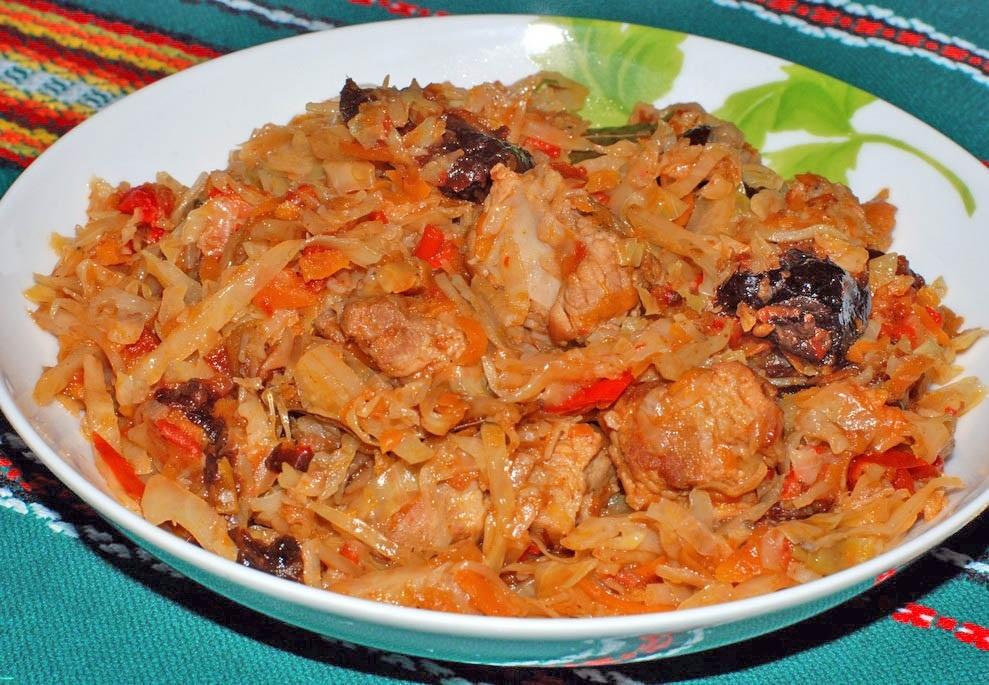 Los platos de col