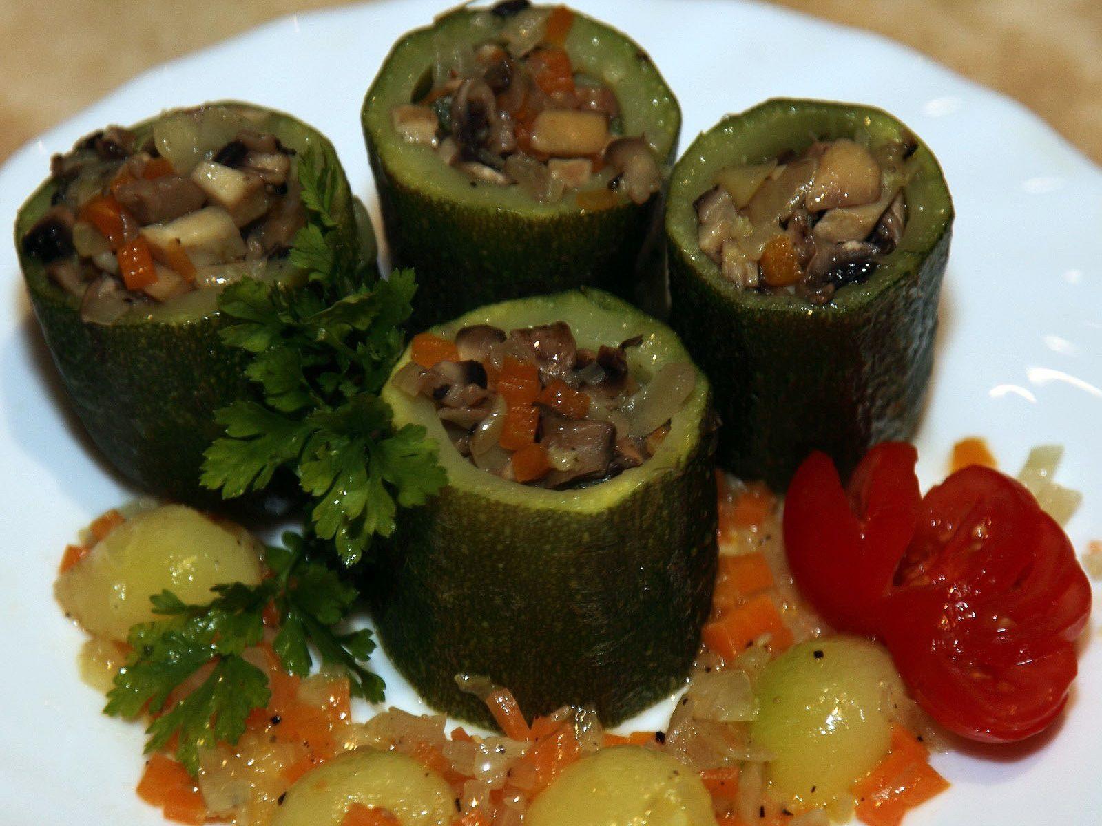 Рецепты блюд с овощами