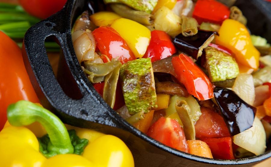 دور الخضروات في الطبخ
