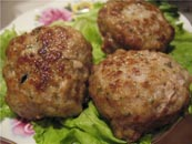 أطباق من كتلة اللحوم كستلاتة