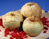 التفاح المخبوزة