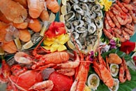 Features of treatment of certain types of fish products