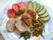 لحم البقر المشوي مع البصل