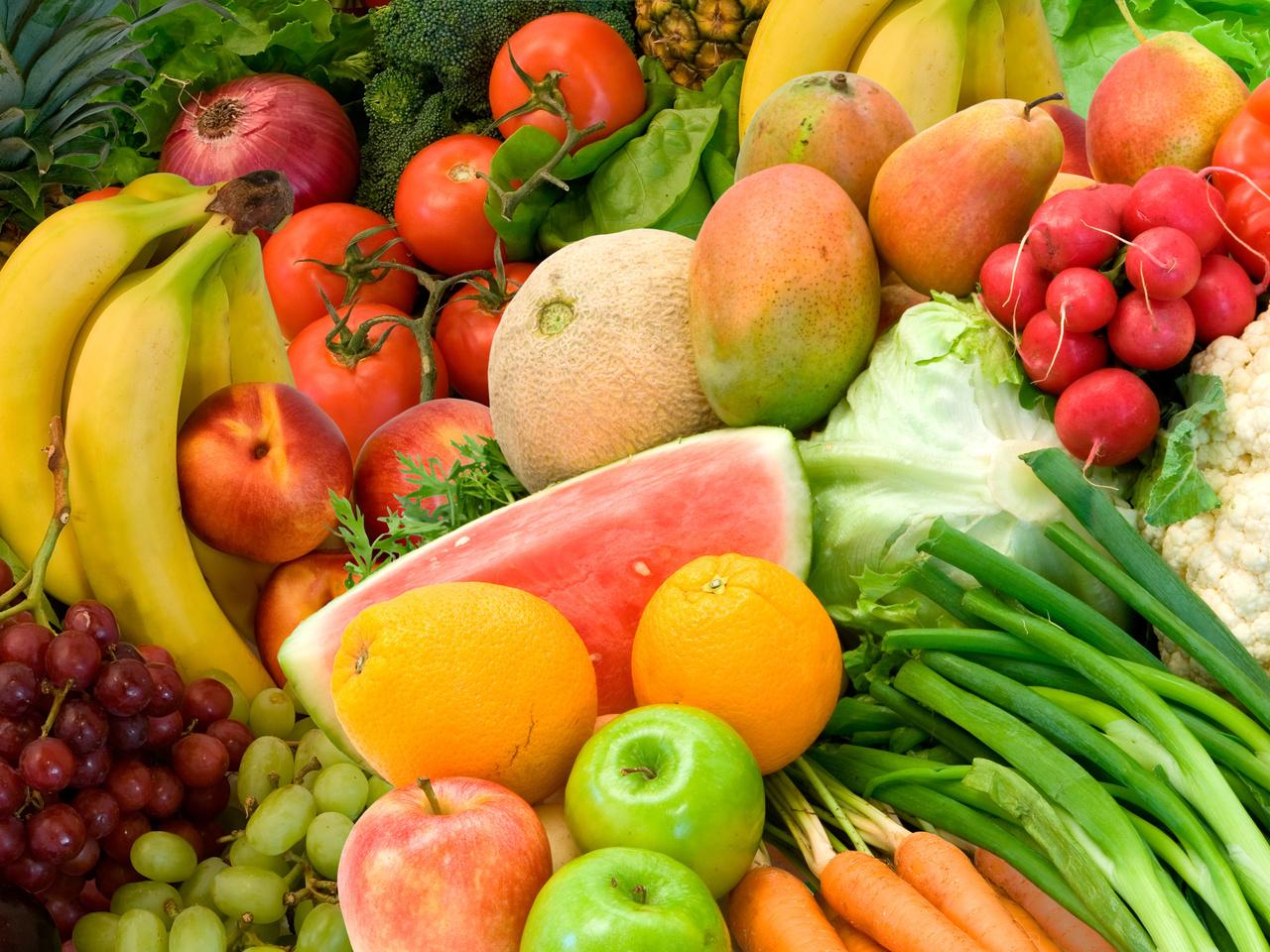 Роль овощей в питании