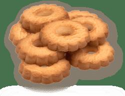 Рецептура - Песочно-выемное сдобное печенье «КРИМУЛДА»