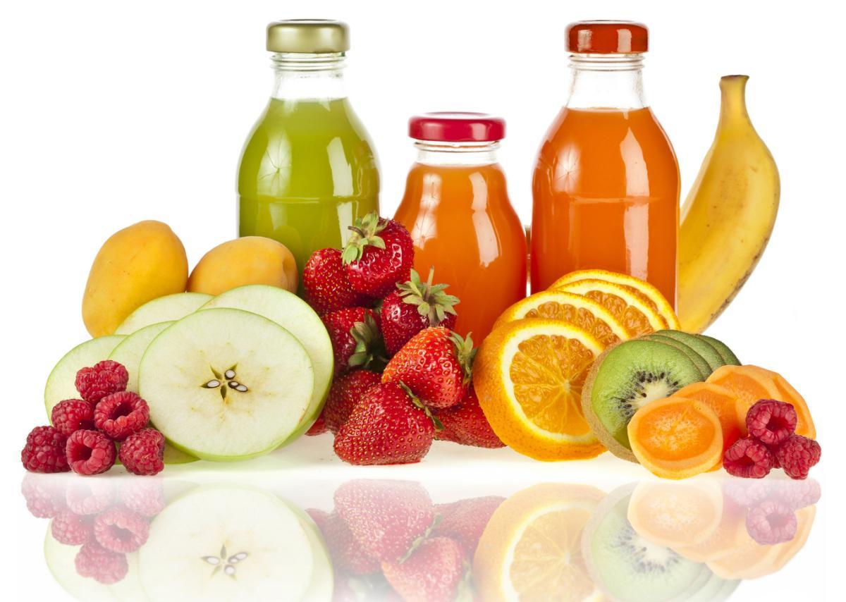 إنتاج عن طريق التخمير من عصير التفاح مع اللب