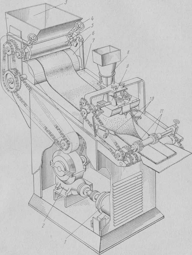 Enfriamiento de la máquina NOM-2 para la masa de caramelo