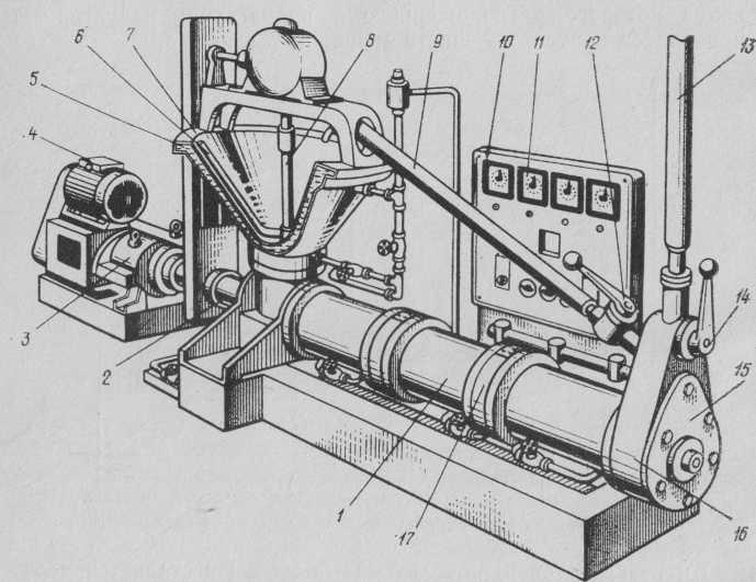 máquinas de templado con la cámara de cuatro horizontal
