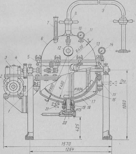 جهاز فراغ كروي A-31 150 قدرة لتر مع النمام الميكانيكية (