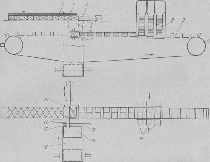 Технологічна схема автомата К-467