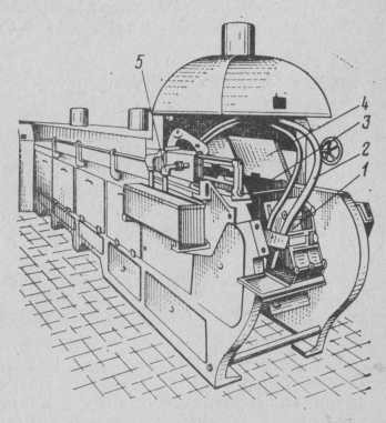 Напівавтоматична конвеєрна вафельная піч