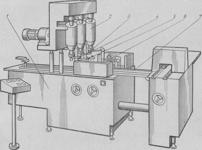 Автомат Ш5-РПТ для фігурної обробки тортів