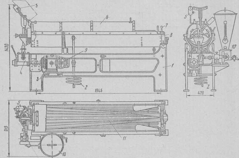 क्षैतिज karameleobkatochnaya मशीन केपीएम।