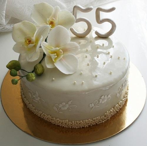 pastel de aniversario