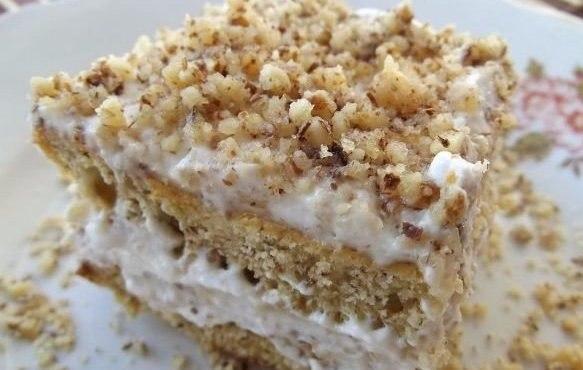 quitar el polvo de la torta de miga