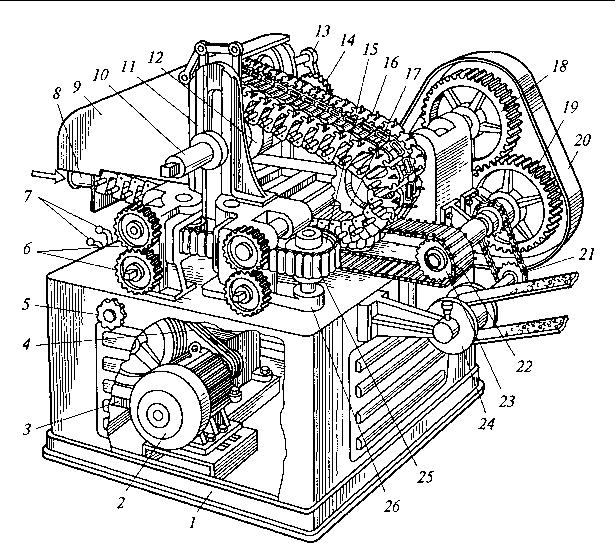 La figura 5.13. Cadena máquina de estampado de caramelo W 3