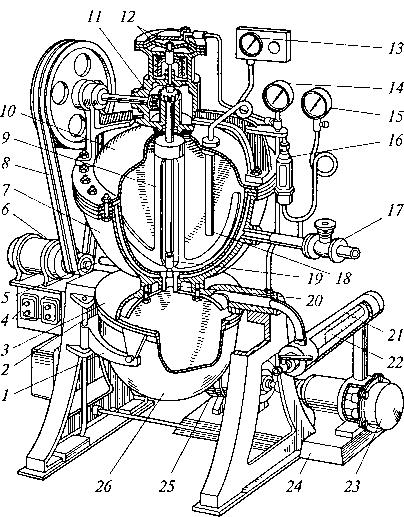 التين. 5.3. جهاز تفريغ الطهي العالمي M 184
