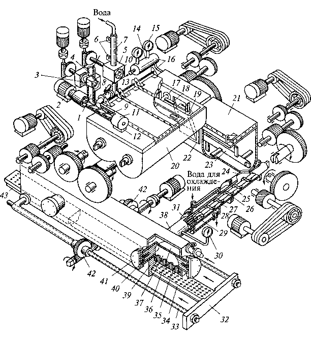 La figura 4.4. Esquema de macarrones LPSH 1000