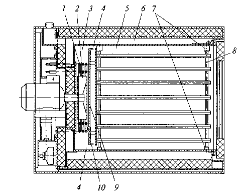 Fig. 3.34. Tier two-chamber furnace