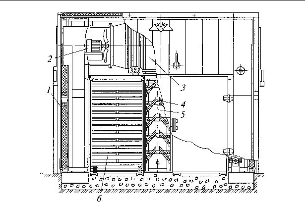 図 3.43 デッドエンド2室乾燥機