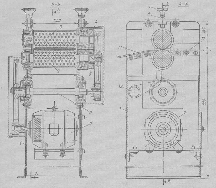 MVS rodillos de la máquina monpanseynaya.